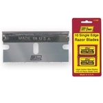 "Ivy Classic, 11180, 10 Pack .009"" Single Edge Razor Blade"