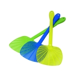 QUICKIE 11190 Fly Swatter All Plastic 1 Piece Assorted Colors
