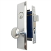 Marks Metro 114A/26D Left Hand Satin Chrome Mortise Entry, Thru Bolted, Lockset, Lock Set