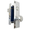 Marks Metro 114A/26D Right Hand Satin Chrome Mortise Entry, Thru Bolted, Lockset, Lock Set