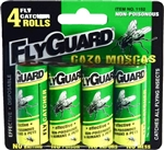 FlyGuard 1152 4 Fly Paper Ribbon Catcher Rolls Catches Most Flying Insects