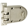 Guard (Segal Like) Solid Jimmy Proof Deadlock Deadbolt Single Cylinder Lock Set, Satin Nickel (US15), Boxed