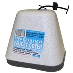 Nation Wide Products, 1950, Oval, Outdoor Faucet Insulation Cover with Styrofoam Shell
