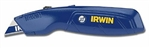 IRWIN 2082100 Utility Knife Standard Retractable W/3 Blue Bi-Metal Utility Blades