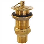 "Aqua Plumb, 2121, 1"" Universal, Solid Brass, Stopper, Bar Industrial Sink Socket Drain Assembly"
