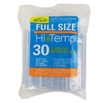 AdTech 229-14ZIP30 Full Size Multi Temp Gluesticks That Are Non-Yellowing, Bag Of 30