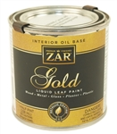 United Gilsonite UGL, 23506, 1/2 Pint 8 OZ, Gold Paint, Brilliant Gold Leaf Finish