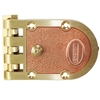 Em-D-Kay (Segal 467, SE 14327, SE 14326 Like) Solid Bronze Jimmy Proof Automatic Deadlocking Slam Lock Interlocking Deadbolt Single Cylinder Lock Set, Bronze (US10)