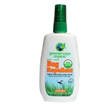 Greenerways Organic 401 Deet Free Bug Repellent Pump Spray 4oz Repels The Zika Virus