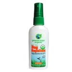 Greenerways Organic 405 Deet Free Bug Repellent Pump Spray 2oz Repels The Zika Virus