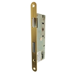 "Ultra Hardware 44627 Body Only Brass Mortise For Entry Lever Handle Narrow Style Storm Door Lock with 1-3/4"" Backset"