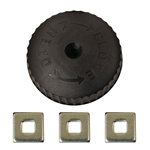 HBC, 4505010, STEAM HOT WATER FIT ALL RADIATOR VALVE REPLACEMENT WHEEL HANDLE 3 IN 1
