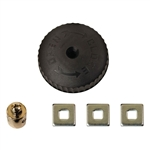 HBC, 4506020, HVAC DELUXE STEAM HOT WATER UNIVERSAL FIT ALL RADIATOR VALVE 3 SCREW REPLACEMENT HANDLE