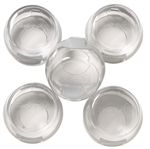 Safety 1st, 48409, 5 Pack, Clear View Stove Knob Covers, Updated Universal Design