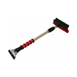 "Hopkins 511-E Mallory 36"" Telescoping Snow Broom Brush and Rubber Squeegee with a Ice Scraper Blade (Colors may vary 1 Per Order)"