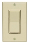 Leviton, 5673-2I, Decora 3-Way Quiet Rocker Switch with Wall Plate