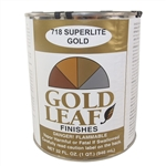 SHEFFIELD, 5718, Gold Leaf Metallic, 32 oz (Quart) Can, Superlite Gold Leaf Finish