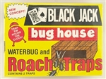 Safeguard Black Jack 607 Bug House for Roaches and Waterbug Glue Traps Odorless