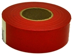 "Irwin, 65601, 1-3/16"" x 150', Glo Red Fluorescent Flagging Tape"