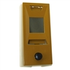 AF Florence - Auth Chimes, 689106, Gold Lacquer, Door Viewer And Non Electric Chime Combination, Chime Door Viewer