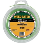 Weed Eater .080-Inch by 80-Foot Bulk Round String Trimmer Line 952701534