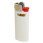 BIC 703324 White Classic Mini Lighter