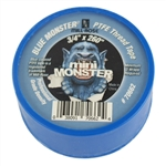 "MILL-ROSE, 70662, 3/4"" x 260"" Blue Monster PTFE Thread Seal Tape, Plumbers Teflon Tape"