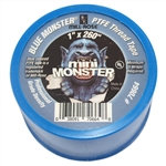 "MILL-ROSE, 70664, 1"" x 260"" Blue Monster PTFE Thread Seal Tape, Plumbers Teflon Tape"