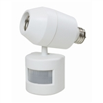 Bright Way, 74239, Screw In 180° Motion Activated Outdoor Light Control