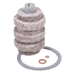 Uni Filter 88CR Fuel Oil Filter Replacement Cartridge For General 1A-25B & 1A-25A And For Uni Filter 77B & 77