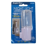 Bright Way 891LED Automatic LED Night Light With Electric Eye Night Sensor