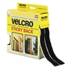 Velcro 90081, Black,  3/4 x 15 ft. Roll, Sticky Back Hook and Loop Fastener Tape with Dispenser