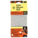 "3M, 9114, 5 Pack, 3-2/3"" x 7-1/2"", Coarse, Adhesive-Backed, Vibrator Sander Sheets"