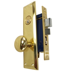 Marks Metro 91A/3 Left Hand Mortise Entry, Surface Mounted, Lockset, Lock Set