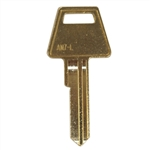 Jet AM7L 6 Pin Long Style Key Blank For American Lock Junkunc PTKB-1 Keyway