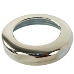 "Aqua Plumb 3100140 Polished Chrome Finish 1-1/2"" x 1-1/4"" Brass Slip-Joint-Nut"