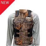 Exo Pro, BA134, Large / Extra Large, Hunting Camo, Waterproof & Windproof Neoprene Cold Weather Body Armor Thermal Vest