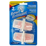 Bowl Brilliant BBBCX2 Special 2 Pack Toilet Cleaner And Deodorizer 1.4oz Each
