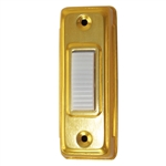 Lee Electric BC265LG Gold Wired Box Push Button With White Lighted Button For Bell
