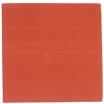 "C1553, 6"" x 6"" x 1/16"", Red Rubber Sheet, Make A Gasket"