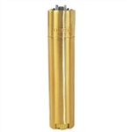 Clipper CMP11R Full Metal Gold Lighter With Case