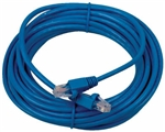CONECT IT, CPD-52505, 25', Cat5e RJ-45, Blue, Network Cable, For Connecting High Speed UTP Data To Computer Accessories