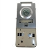 Maxtech DV101S-26D Dull Chrome Door Viewer And Non Electric Chime Combination