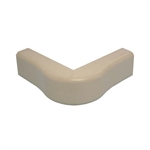 "Wire Hider Wirehider, FOC-52424, 1"" Outside Corner Beige For Molding Self Adhesive"