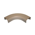 "Wire Hider Wirehider, FRA-32424, 1"" Right Angle Beige For Molding Self Adhesive"