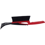 "Tuff Stuff, LGT52861, 16"" Regular Reach Snow Brush With 3-1/2"" ABS Removable Ice Scraper Head And Strong Plastic Handle"