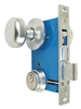 Maxtech (Marks 22AC/26D-W-RHR Like) Right Hand Heavy Duty Mortise Lockset, Satin Chrome Lock Set Ornamental Iron Gate Door Double Cylinder