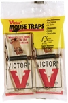 Victor Metal Pedal Mouse Trap , 2 packs