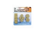 My Helper, MH9003, 56 Pieces, Beige, Self Stick Felt Home Surface Pad Assorted Protects Floors, Protection Kit