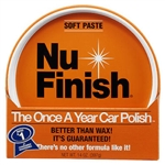 Reed Union, NFP-80, Nu Finish, 14 OZ, Paste Car Polish, The Once A Year Car Polish